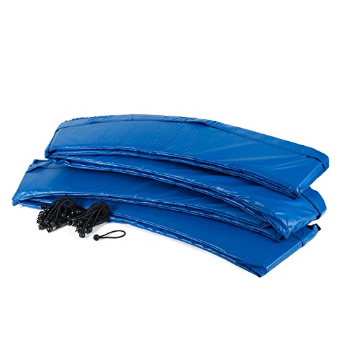 Ampel 24 Trampolin Randabdeckung | Ersatzteil reißfest & UV-beständig | Federabdeckung passend für Trampolin Ø 305 cm | Schutzrand blau