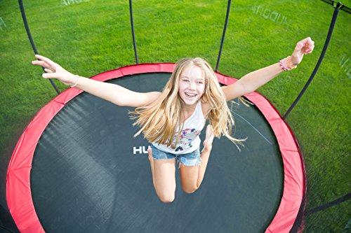 HUDORA Fantastic Trampolin 400 cm - Gartentrampolin mit Sicherheitsnetz - 65740 - 6