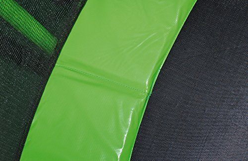 HUDORA Family Trampolin/Gartentrampolin, mit Sicherheitsnetz, grün, 480 cm, 65653 - 3