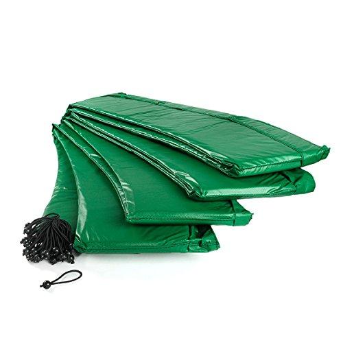 Ampel 24 Trampolin Randabdeckung | Ersatzteil reißfest & UV-beständig | Federabdeckung passend für Trampolin Ø 430 cm | Schutzrand grün